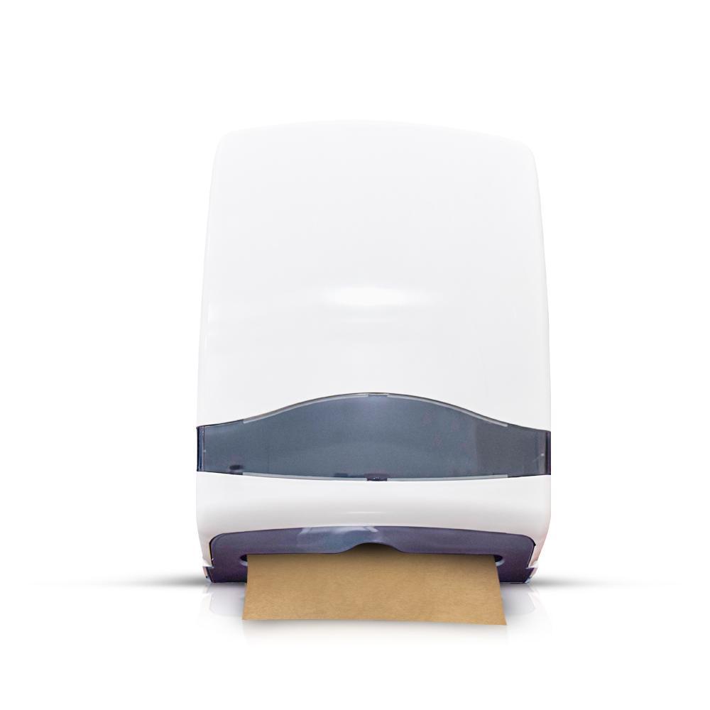 ABS C-Fold Dispenser Pearl White