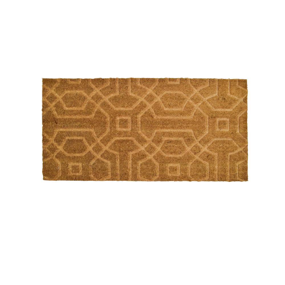 Coco Door Mat with Rubber 50 x 100 cm