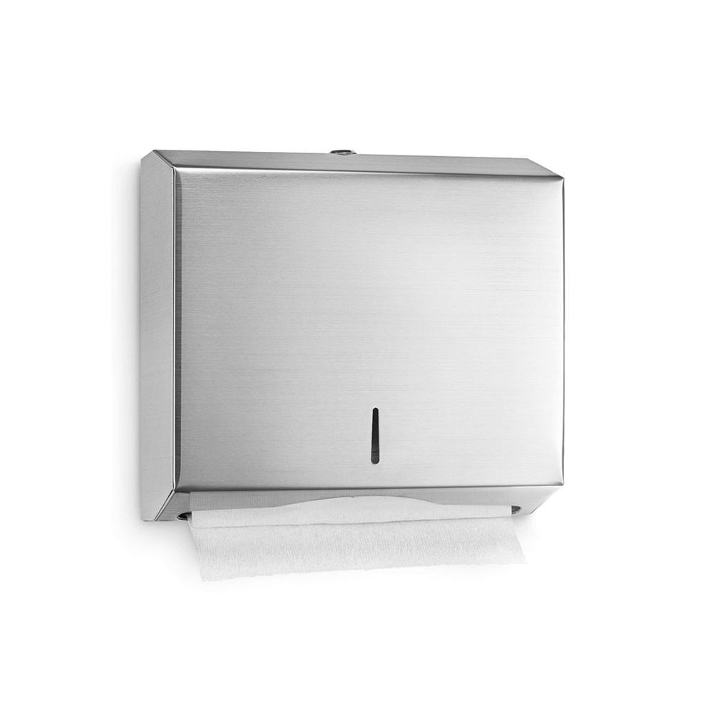 Stainless Steel C-Fold Dispenser L 28.5 x W 10 x H 26.5 cm