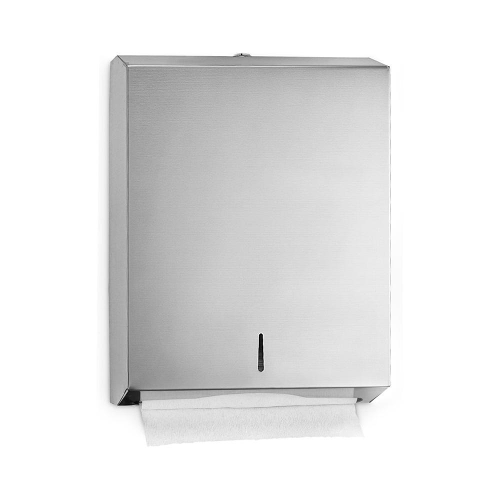 Stainless Steel C-Fold Dispenser 28 x 10 x 36 cm