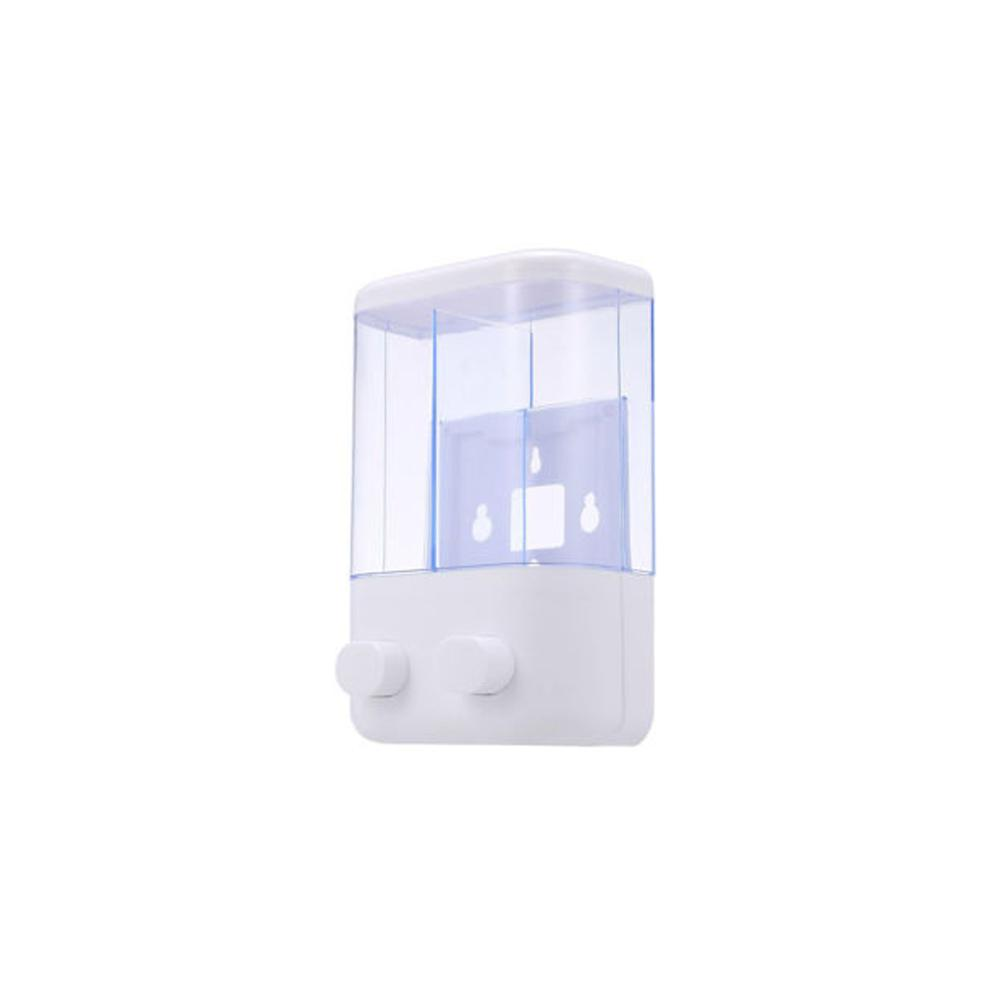 Manual Hand Soap Hygiene Dispenser 450 ml Both Container