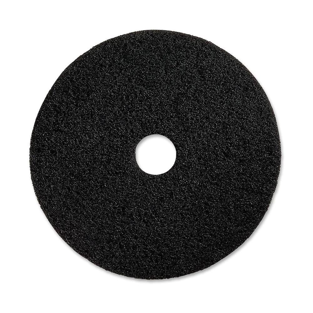 Black Floor Pad 17 inches