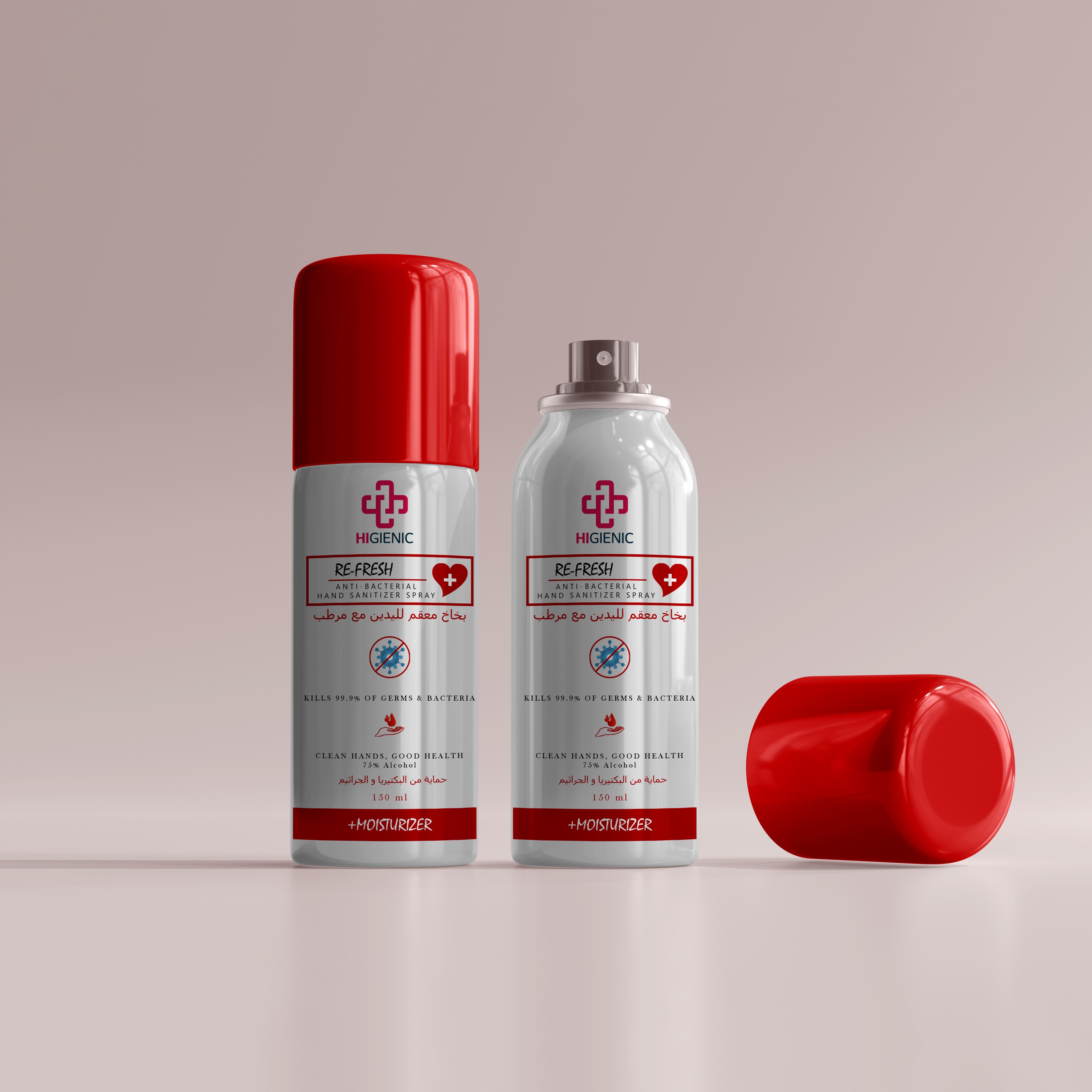 Anti Bacterial Re-Fresh Hand Spray 150 ml