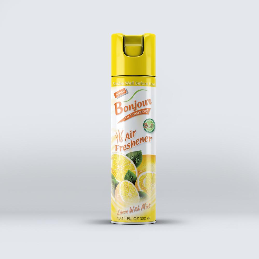 Bonjour Lemon with Mint Air Freshener 300 ml