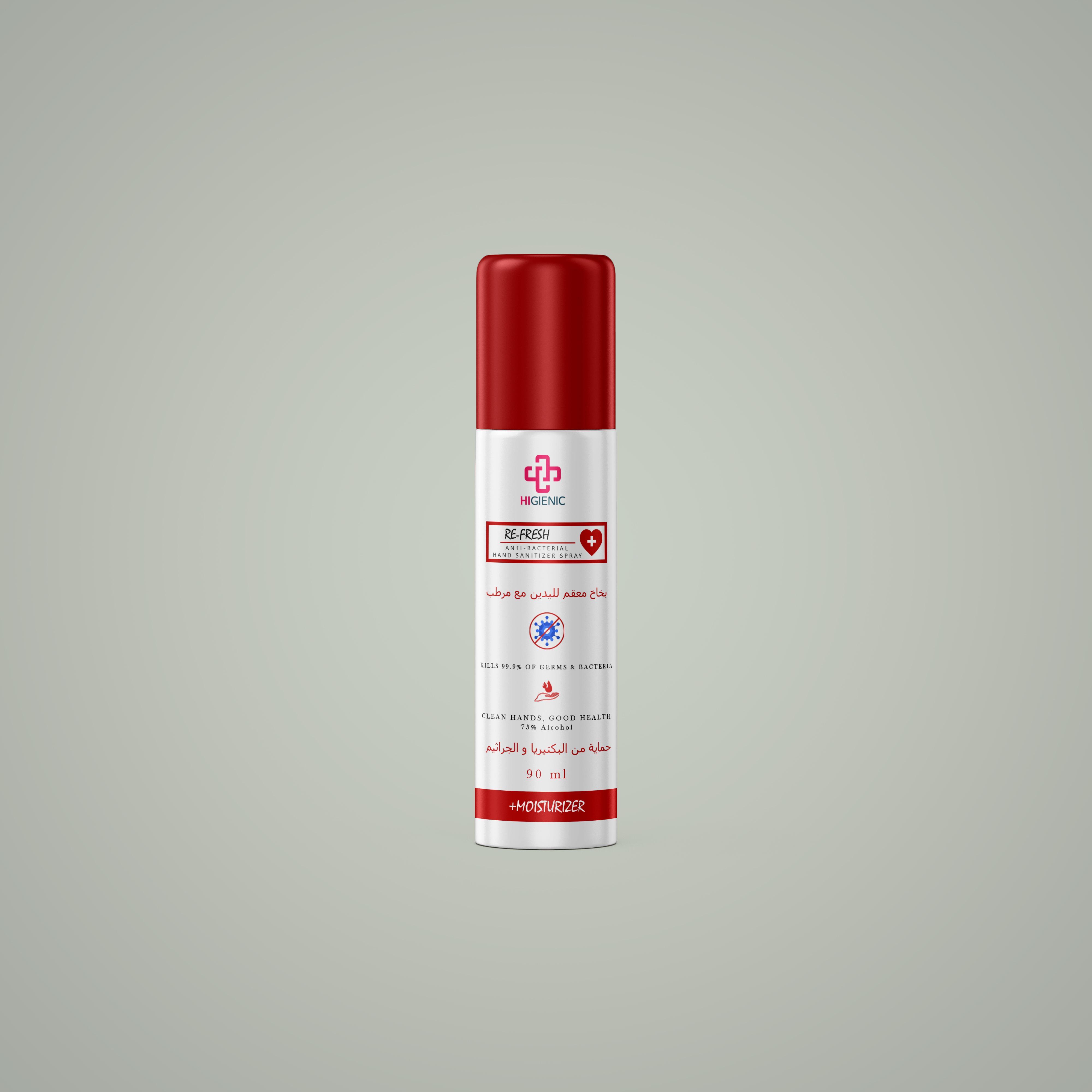 Anti Bacterial Re-Fresh Spray 90 ml