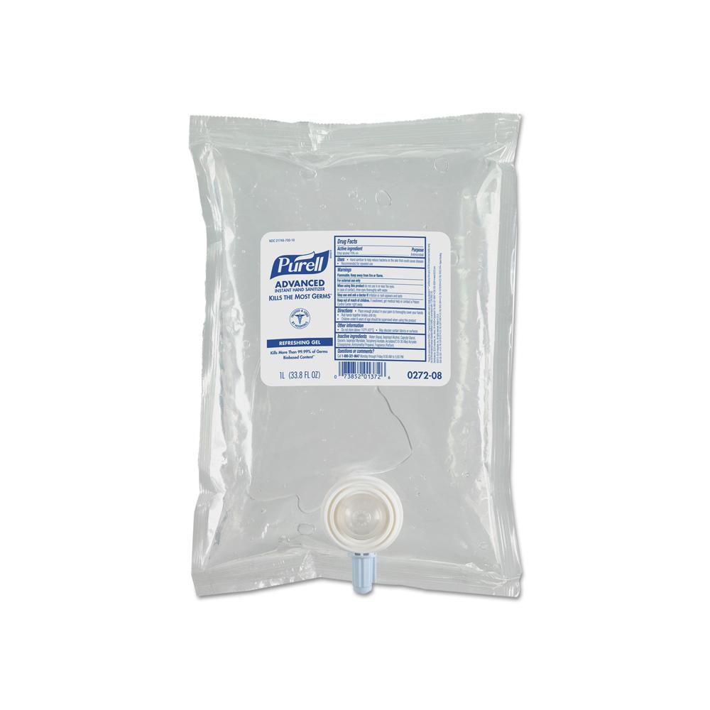 Purell Hand Sanitizer Refill Pouch 1000 ml