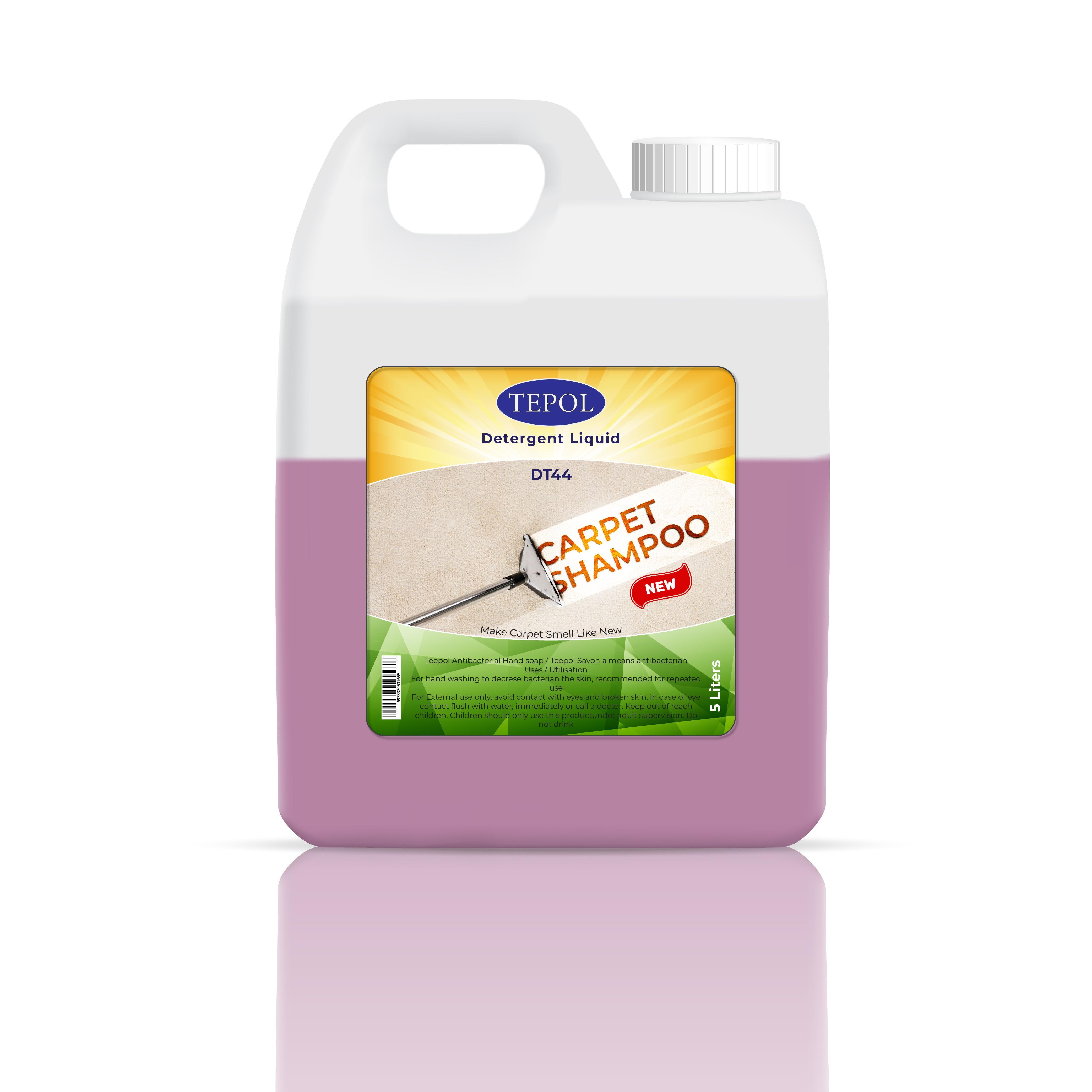 Carpet Shampoo Lemon Lime 5 Liters