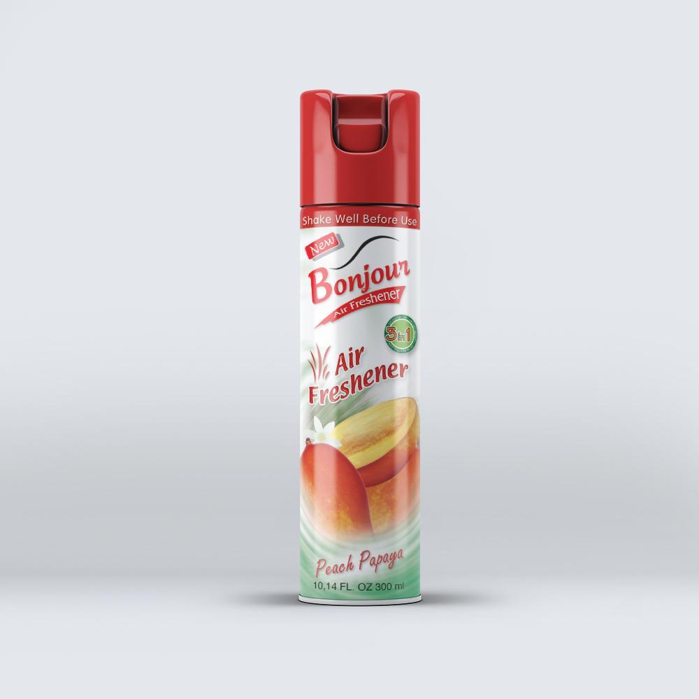 Bonjour Peach Papaya  Air Freshener 300 ml