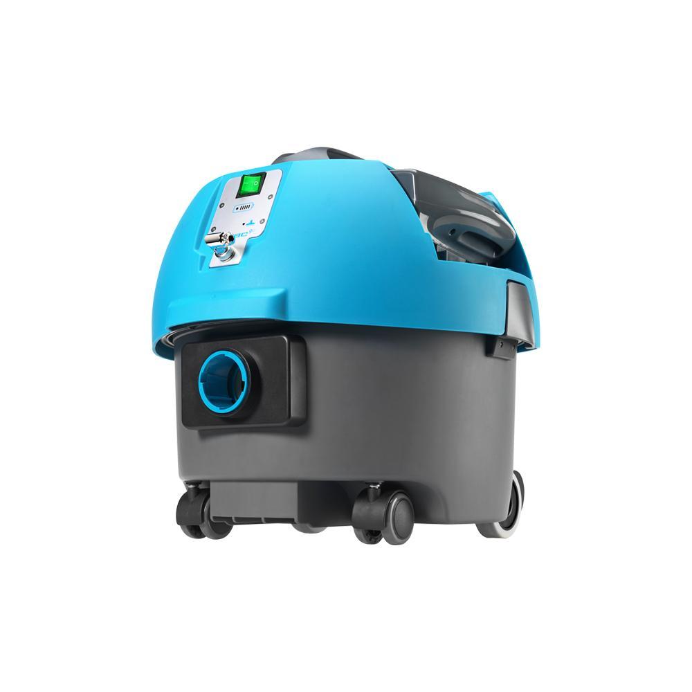 Battery operated vacuum machine