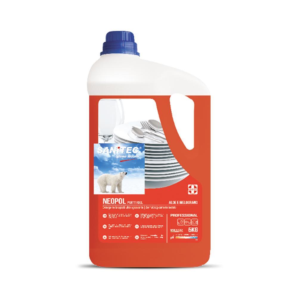 Dish Washing Ultra Disinfection Gel 5 Liters