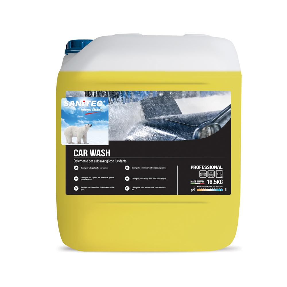 SANITEC Car Polisher and Cleaner 16.5 Liters