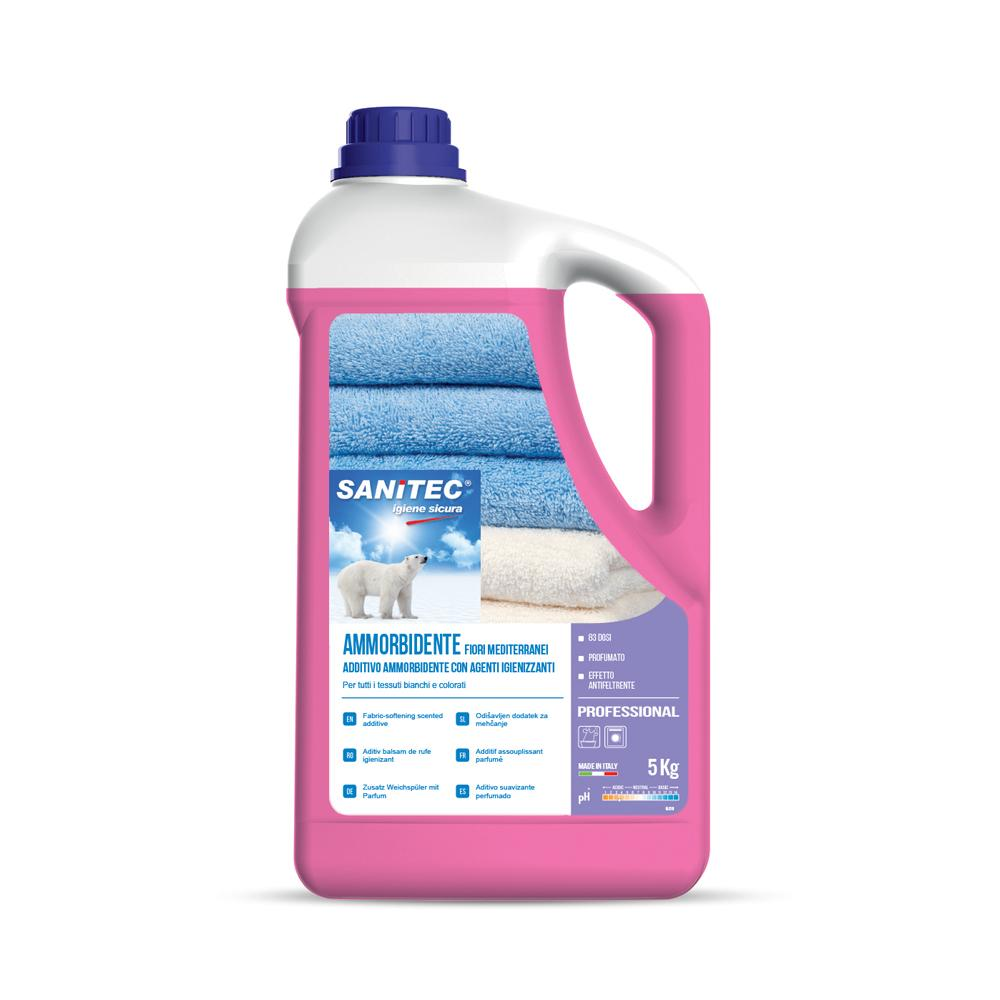 Sanitec Laundry Fabric Softening Softener Scented FLORAL /FRUITY 5 Ltr