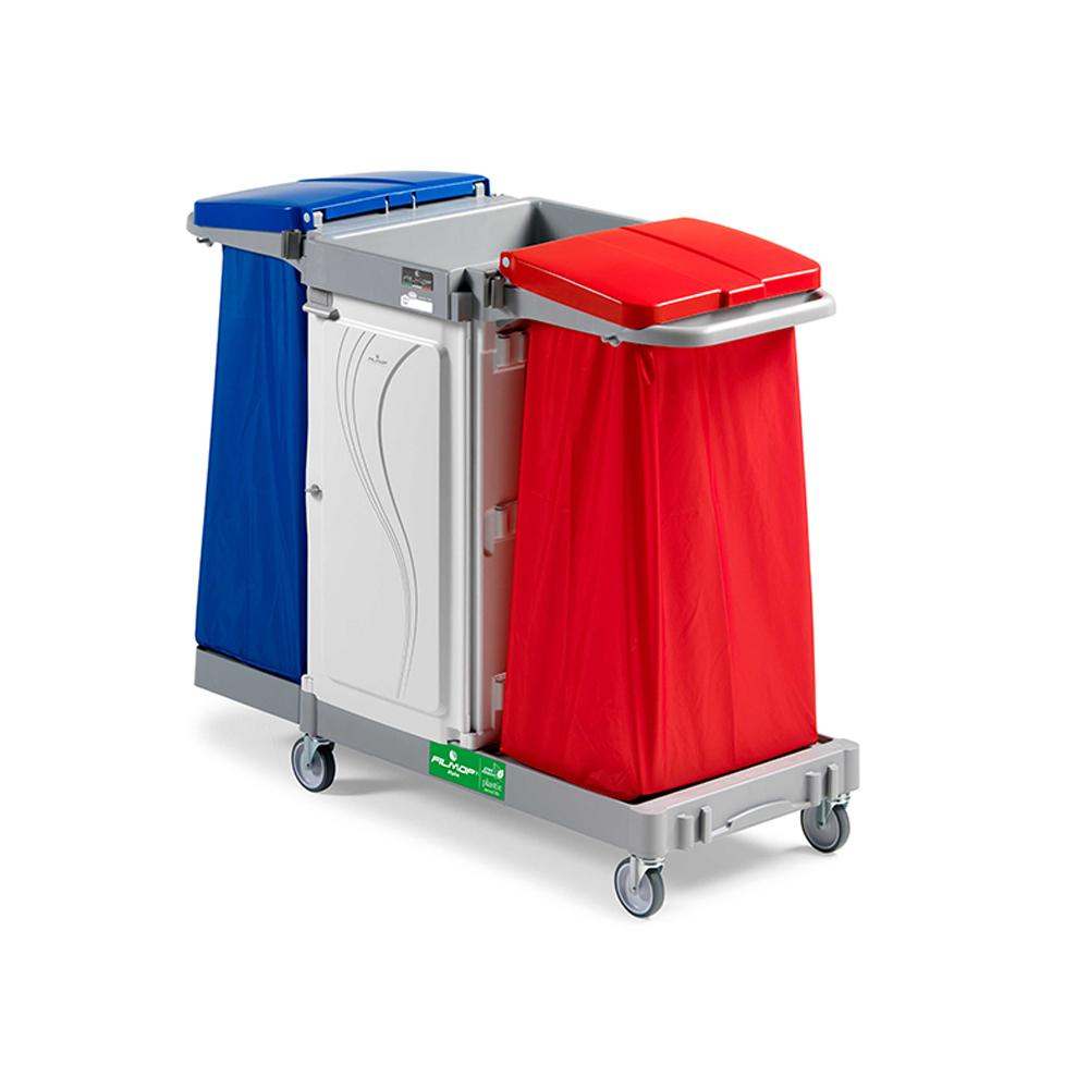 Alpha Laundry Trolley With Two Bags