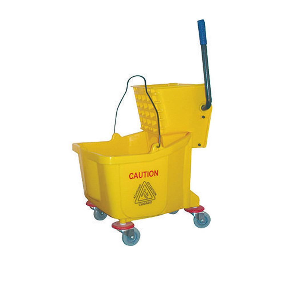 Deluxe Wringer Yellow 32 Liters