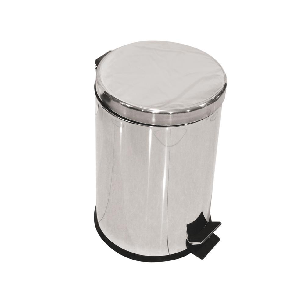 Stainless Steel Dust Bin 12 Liters