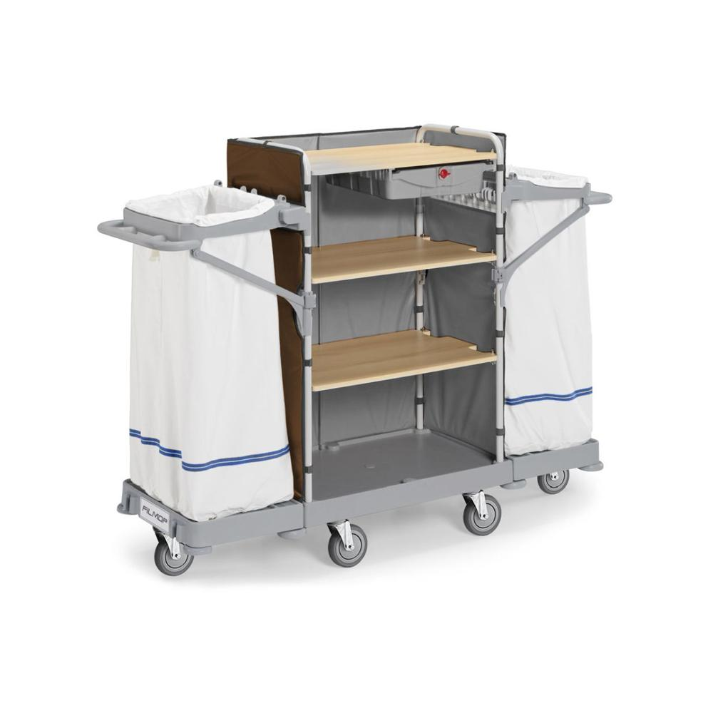 Hotel Service Trolley With Two Bags