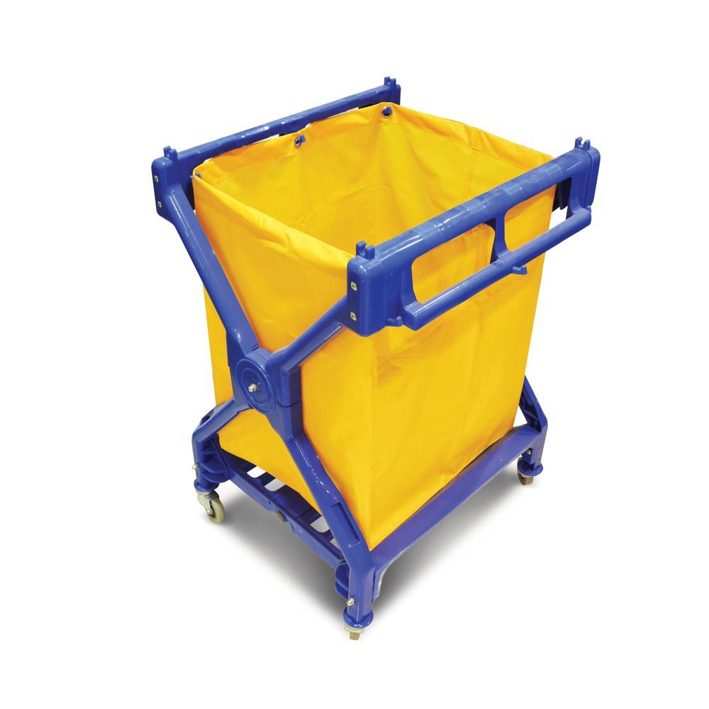 Heavy Duty Laundry Cart X Shaped