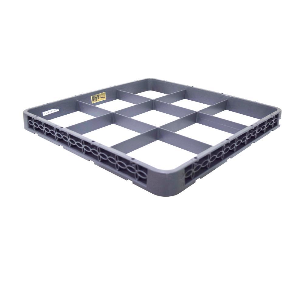 Plastic Dark Beige 9 Compartment Standard Extender