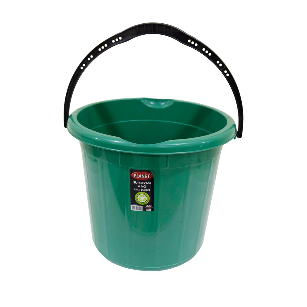 Plastic Green Bucket 10 Liters