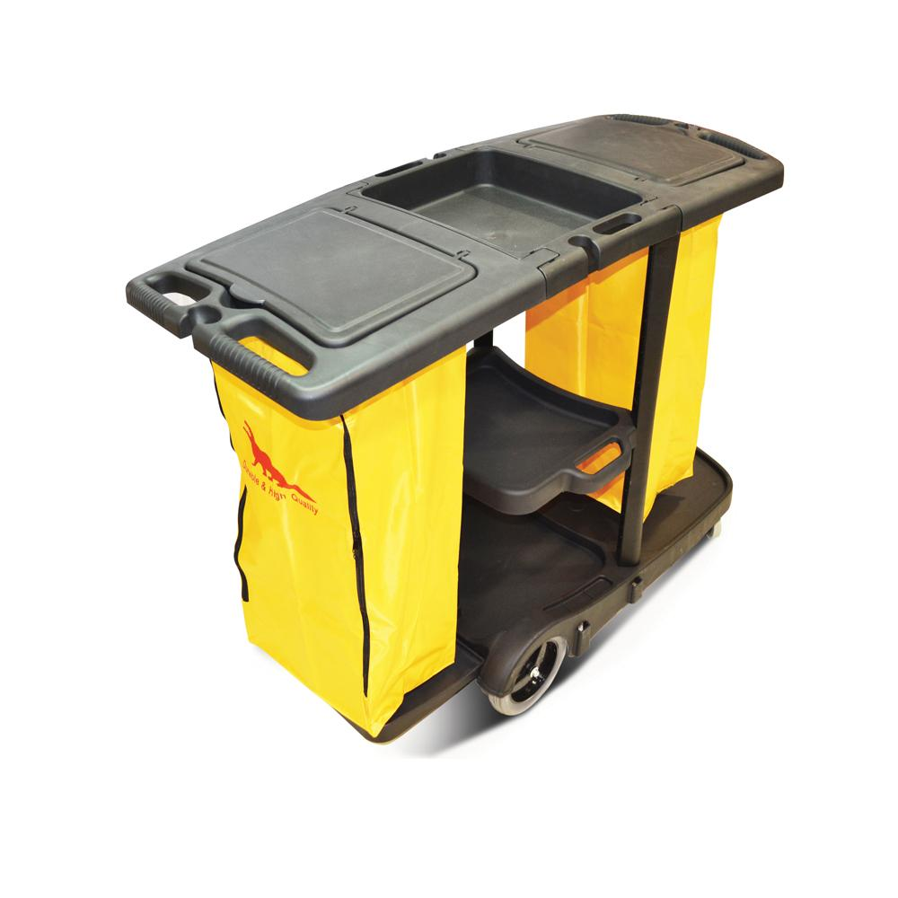 Janitor Trolley With Two Bags