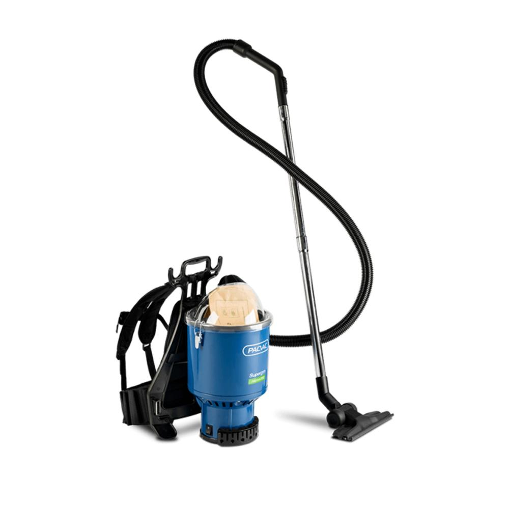 Superpro 700 Trans Aircraft Only Pacvac Back Pack Vacuum Cleaner Machine