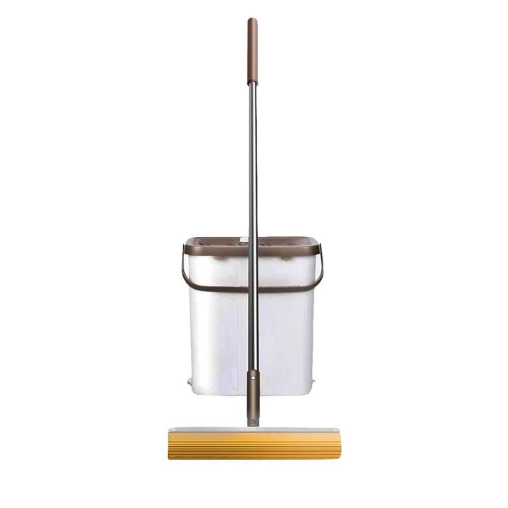 Plastic Mop Bucket Beige 15 Liters