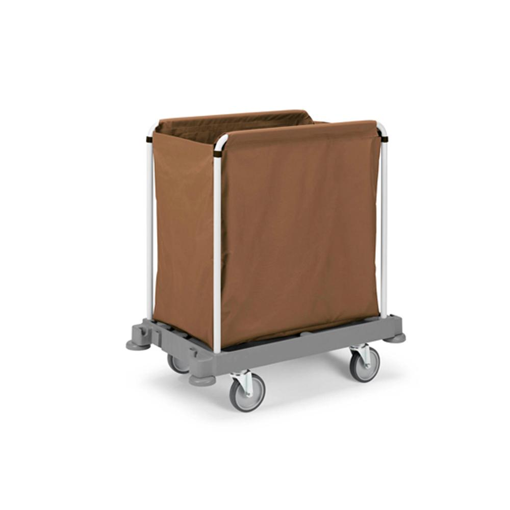 Laundry Cart With Plastic Base 200L