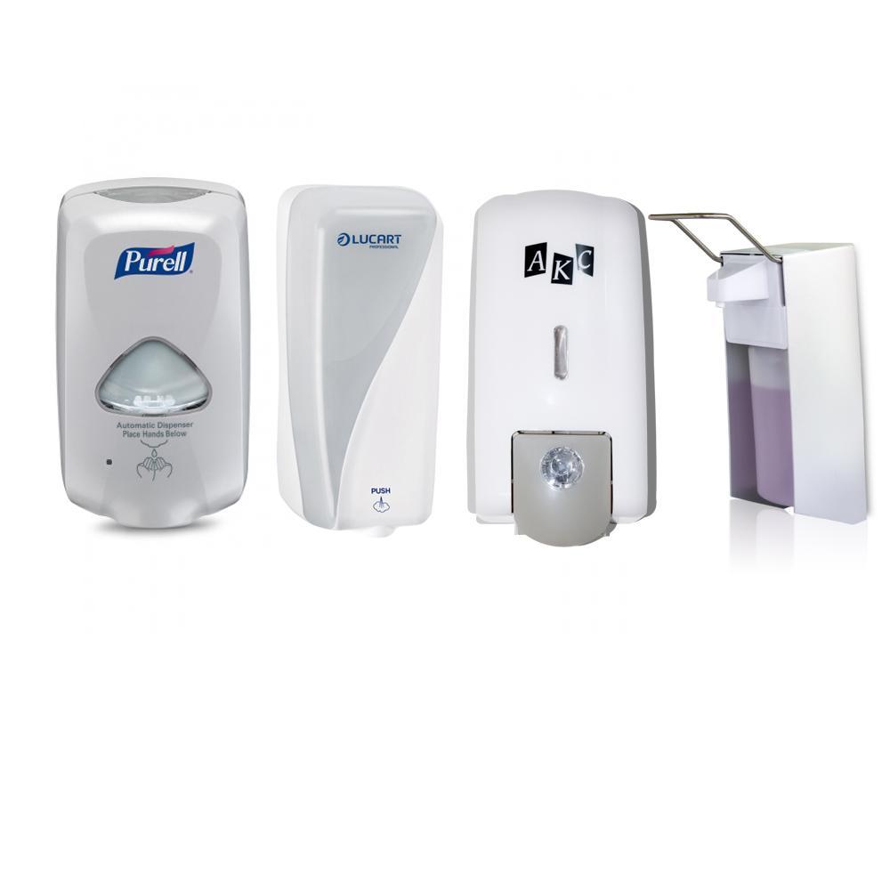 Hand Soap & Sanitizer Dispensers