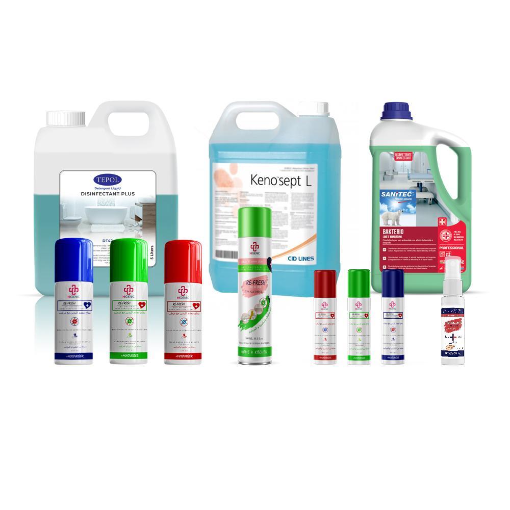 Disinfectant & Sanitizer